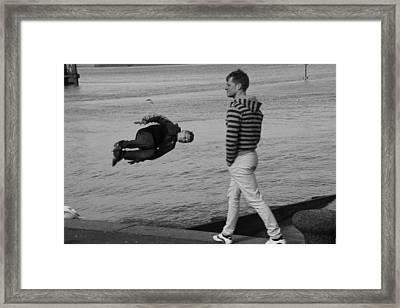Leap Of Faith Framed Print