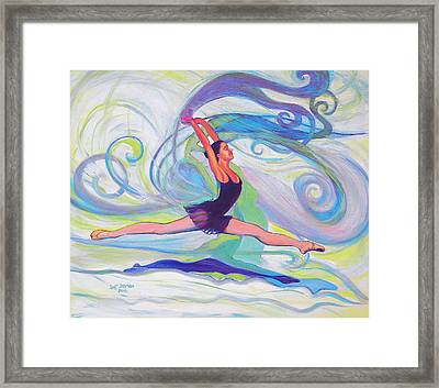 Leap Of Joy Framed Print