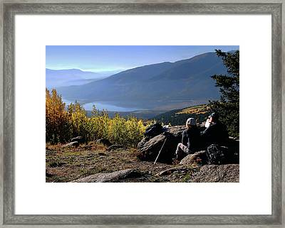 Framed Print featuring the photograph Learn To Be Still by Jim Hill