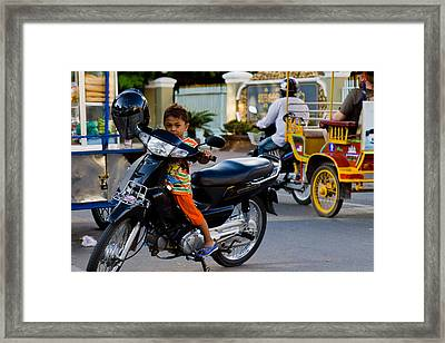 Learn Young Framed Print