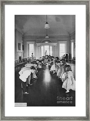 Learning The Cotillion, 1960 Framed Print