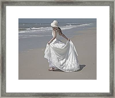 Learning To Fly Framed Print by Betsy C Knapp