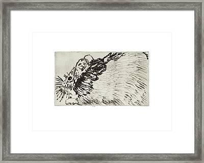 Learning To Love Rats More #1 Framed Print