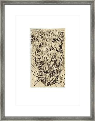 Learning To Love Rats More #2 Framed Print