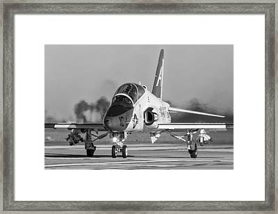 Learning To Move Mud Framed Print