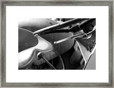 Learning Tractor Framed Print