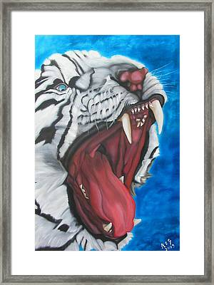 Leave Me Alone Better Framed Print by Alessia Orlandi