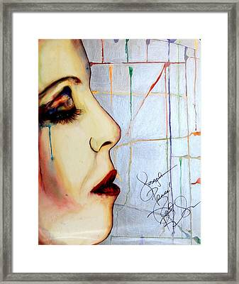 Leave Me Framed Print by Joseph Lawrence Vasile