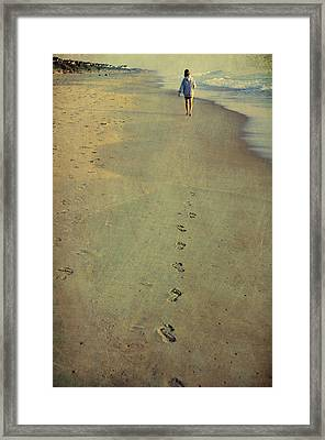 Leave Your Mark Framed Print by JAMART Photography