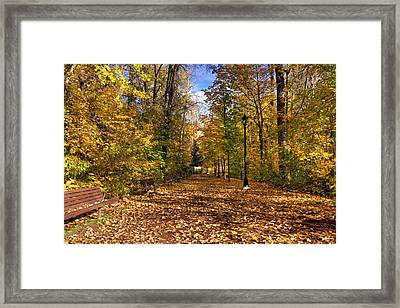 Leavenworth Waterfront Park Framed Print