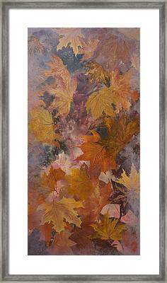 Leaves Framed Print by Emily Magone
