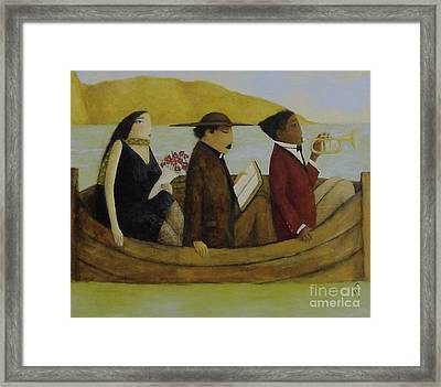 Leaving America Framed Print by Glenn Quist