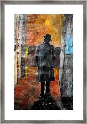 Leaving Capitol - Frank Sinatra Framed Print