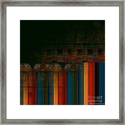 Leaving Darkness Framed Print
