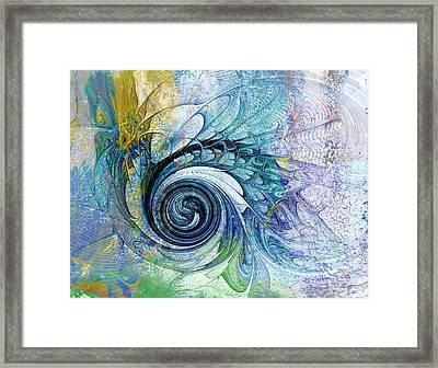 Leaving It All Behind Framed Print by Amanda Moore