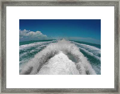 Leaving It All Behind Framed Print by Betsy Knapp