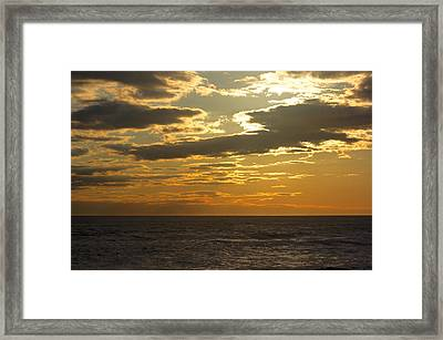 Leaving New Jersey Framed Print by Kevin  Sherf