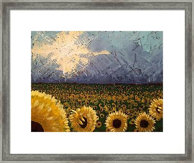 Leaving On A Southern Train Framed Print by Edward Paul