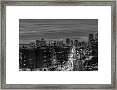 Leaving On Main Framed Print by Tim Wilson