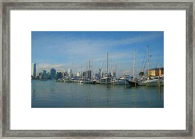 Leaving The Key Framed Print by JAMART Photography