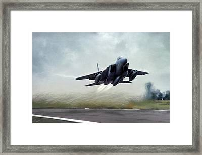Leaving The Nest Framed Print by Peter Chilelli