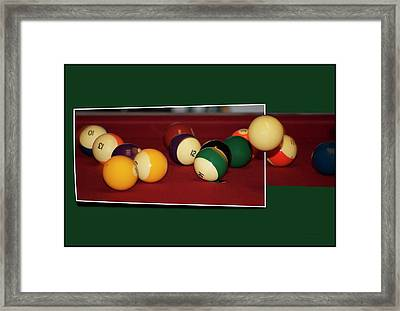 Leaving The Table Framed Print by Thomas Woolworth