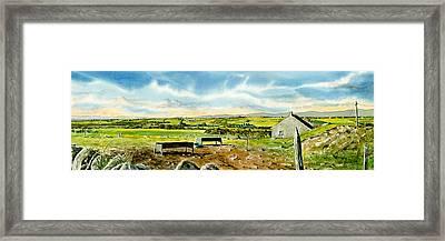 Leaving Wicklow Framed Print by Tom Hedderich