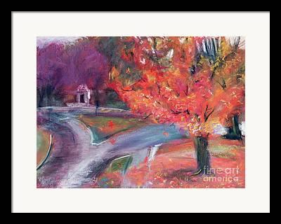 New Hampshire Fall Foliage Framed Prints