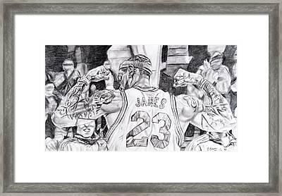 Lebron James #1 Framed Print