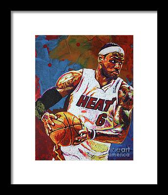 Cleveland Cavaliers Framed Prints