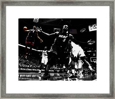 Lebron James 6a Framed Print