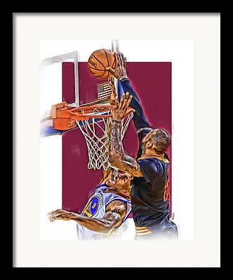 3 Pointer Mixed Media Framed Prints