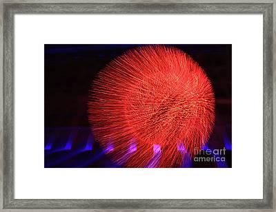 Led Lights Framed Print