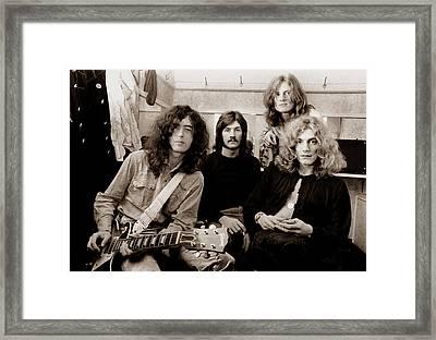 Led Zeppelin 1969 Framed Print