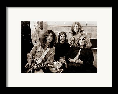 Jimmy Page Framed Prints