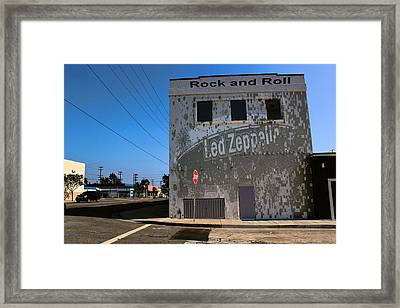 Led Zeppelin I Framed Print by RJ Aguilar