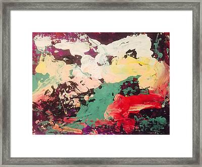 Leda And The Swan II Framed Print by Edward Paul