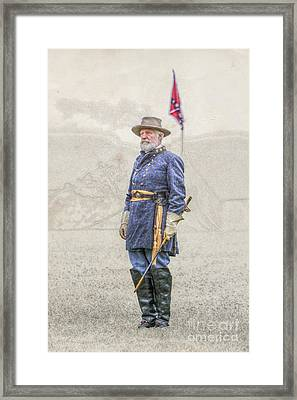 Lee At Appomattox Framed Print by Randy Steele