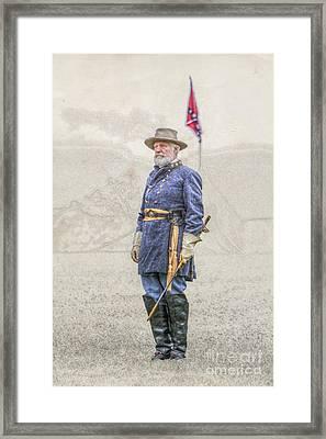Lee At Appomattox Framed Print