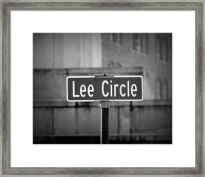 Lee Circle Framed Print