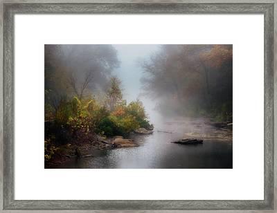 Lee Creek Framed Print by James Barber
