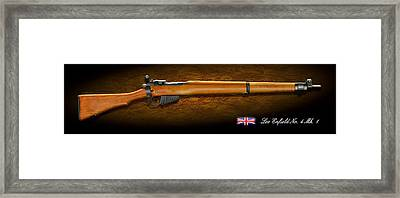 Lee Enfield British Firearm Study Framed Print by John Wills