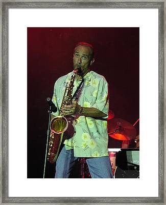 Lee Greenwood Framed Print by Mike Martin