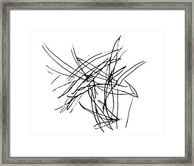 Lee Krasner Series 5 Framed Print by Dick Sauer
