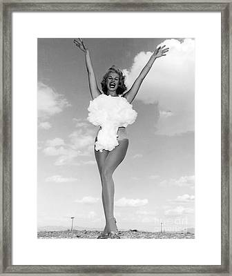 Lee Merlin, Miss Atomic Bomb, 1957 Framed Print