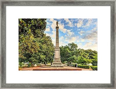 Lee Square  Framed Print by JC Findley