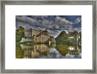 Leeds Castle Reflections Framed Print