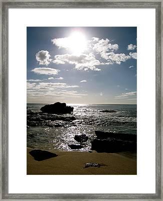 Leeward Sun Framed Print by Ashley Butler