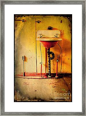 Left And Forgotten Framed Print by Michael Eingle