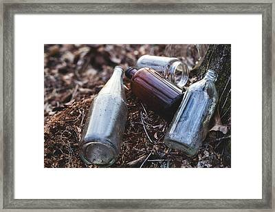 Left Behind Framed Print by Andrew Pacheco